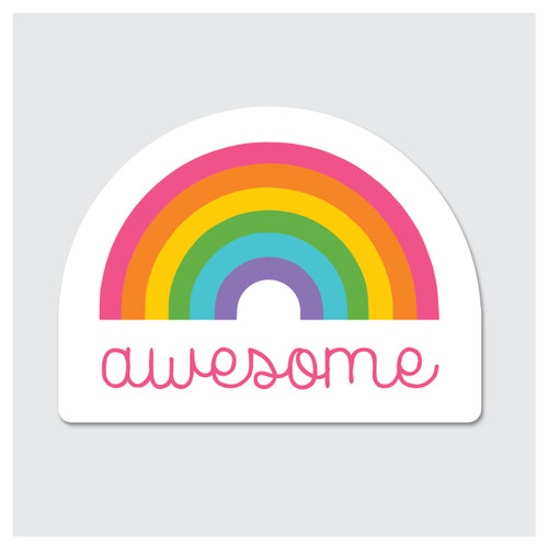Awesome Rainbow Sticker