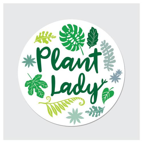 Plant Lady Sticker