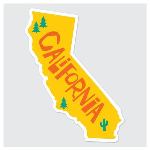 Cali Die-Cut Sticker