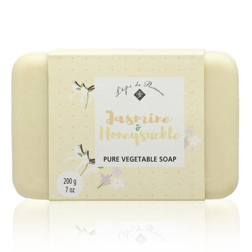 Jasmine Honeysuckle Triple Milled European Soap