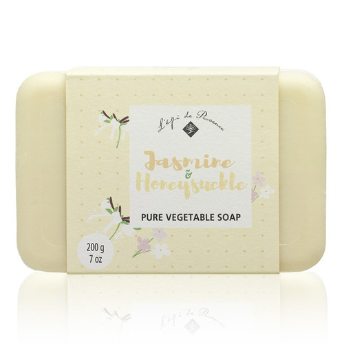 Jasmine Honeysuckle Triple Milled European Soap