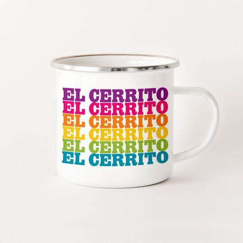 El Cerrito Camp Mug
