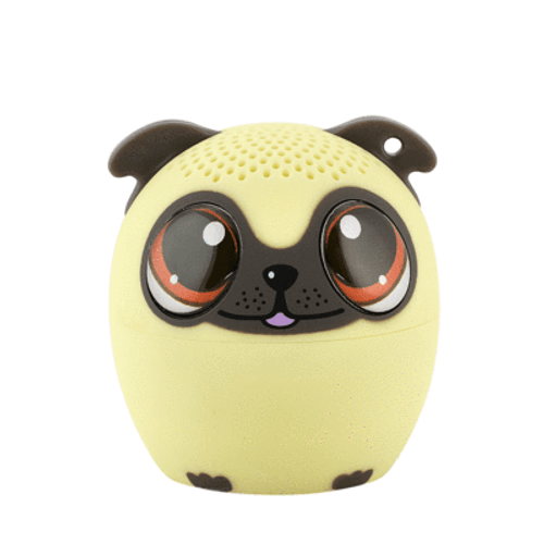 Power Pup the Pug Puppy Portable Bluetooth Speaker