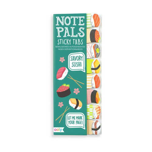 Note Pals Sticky Tabs - Savory Sushi