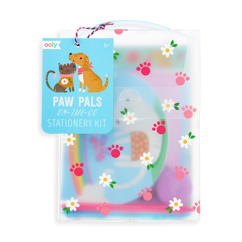 On-the-Go Travel Stationery Kit: Paw Pals