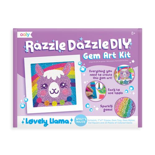 Razzle Dazzle D.I.Y. Gem Art Kit: Lovely Llama