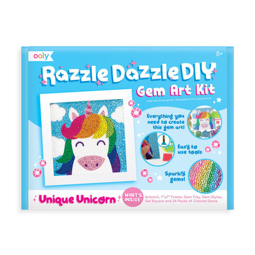 Razzle Dazzle D.I.Y. Gem Art Kit: Unique Unicorns