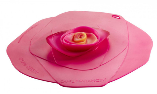 Rose Lid 8''  Fuschia