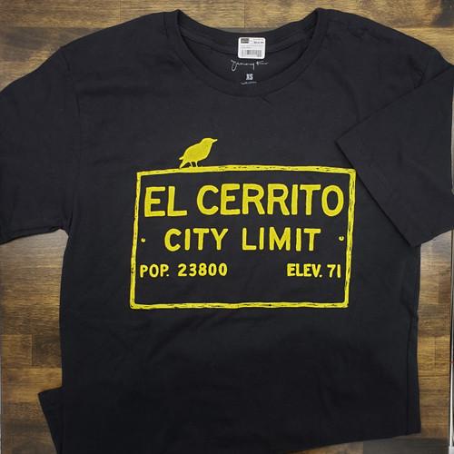 Black Unisex El Cerrito T-Shirt