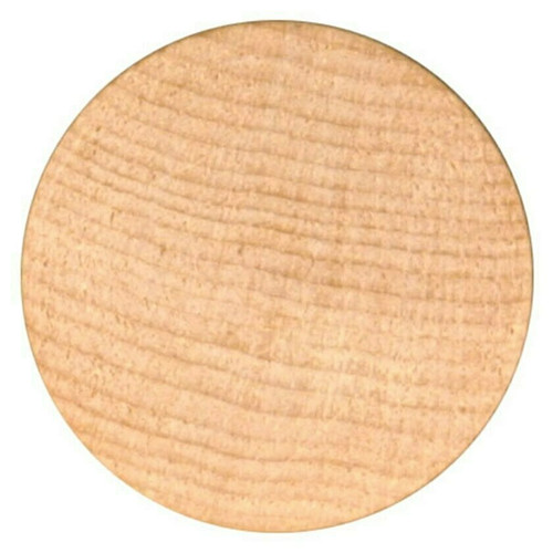 """Blank Unprinted Wooden Nickels Size 1-1/2"""" diameter Quantity 4000 Free Shipping!"""