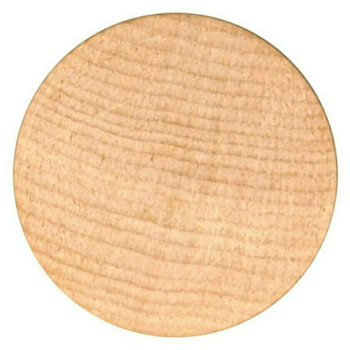 """Blank Unprinted Wooden Nickels Size 1-1/2"""" diameter Quantity 5000 Free Shipping!"""