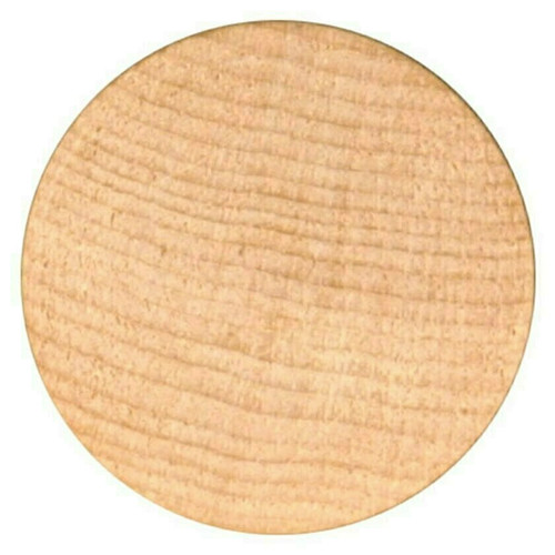 """Blank Unprinted Wooden Nickels Size 1-1/2"""" diameter Quantity 6000 Free Shipping!"""