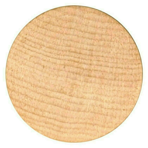 """Blank Unprinted Wooden Nickels Size 1-1/2"""" diameter Quantity 7500 Free Shipping!"""