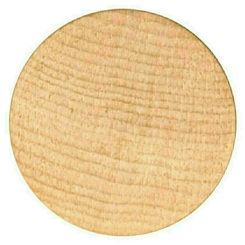 """Blank Unprinted Wooden Nickels Size 1-1/2"""" diameter Quantity 12500 Free Shipping!"""