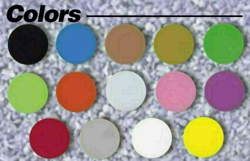 "Custom Printed Round Plastic Tokens 1 1/4"" Token Colors"
