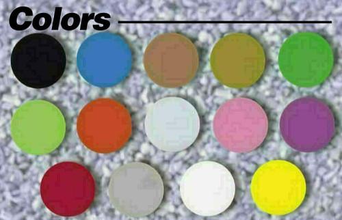"Custom Printed Round Plastic Tokens 1 5/8"" Token Colors"