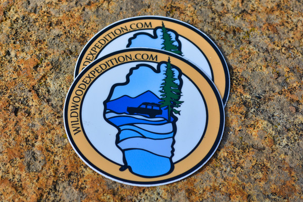 Wildwood Expedition Sticker
