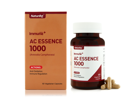 AC Essence 1000™ is a Chemopreventive health supplement made from powdered Antrodia Camphorata Mycelia, a rare fungus found naturally only in Taiwan.