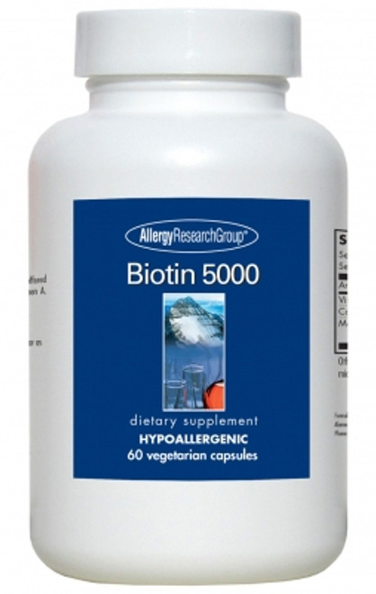 60 Vegetarian Caps High Dose Biotin