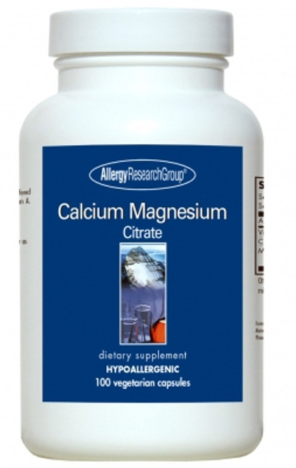 100 Vegetarian Capsules Pure, Well-Absorbed Calcium-Magnesium*