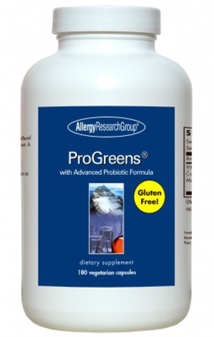 180 Vegetarian Capsules  with Advanced Probiotic Formula