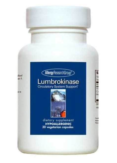 Lumbrokinase Delayed Release Vegicaps Circulatory System Support*