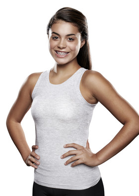 Lightweight Torso Interface V-Neck Tank - X-Static®