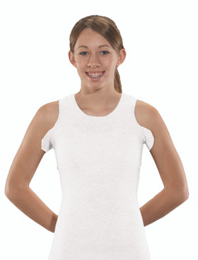 Torso Interface Crew Neck Tank with Axilla Flaps - CoolMax®