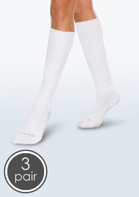 SmartKnit Seamless Diabetic Over-the-Calf Socks - 3 Packs