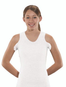 Torso Interface V-Neck Tank with Axilla Flaps - CoolMax®