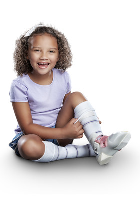 Core-Spun Patterned AFO Socks by SmartKnit for Kids
