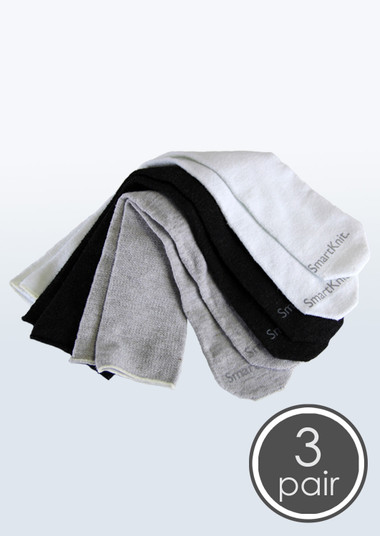 SmartKnit Seamless AFO Interface Socks - Child 3 Pack