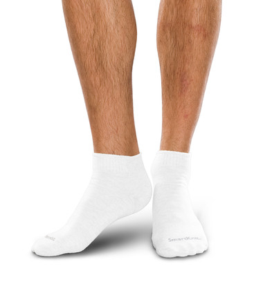 SmartKnit Seamless Diabetic Mini-Crew Socks