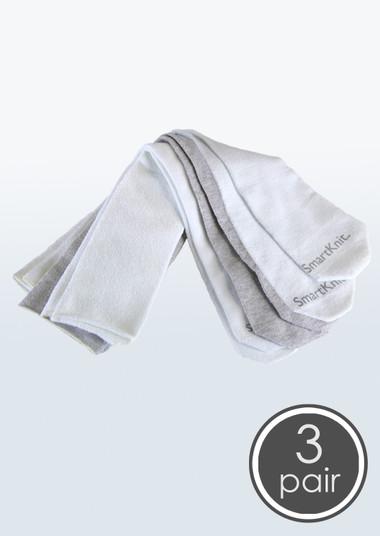 SmartKnit Seamless AFO Interface Socks - Adult 3 Pack