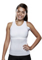 Lightweight Torso Interface V-Neck Tank with Left Flap