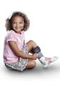 Core-Spun Patterned AFO Socks by SmartKnit - Child 3 Pack