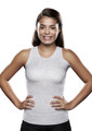 Lightweight Torso Interface V-Neck Tank with Left Flap - X-Static®