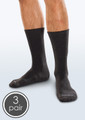 SmartKnit Seamless Diabetic Crew Socks - 3 Packs