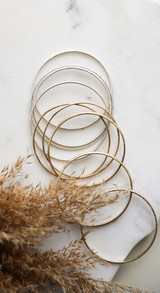 Jeanie Bangle Gold Filled