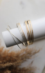 Jeanie Bangle Sterling Silver