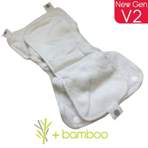 Close Pop In V2 Bamboo Soaker/Booster Set