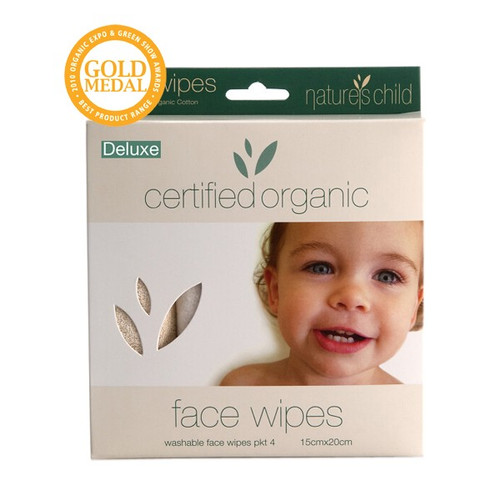 Nature's Child Organic Cotton Face Wipes