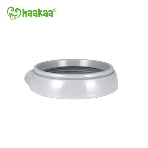 Haakaa Generation 3 Silicone Bottle Nipple Ring - Grey