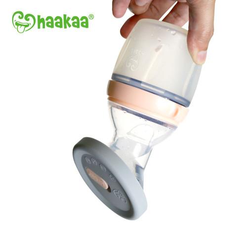 Haakaa Generation 3 Silicone Breast Pump Cap - Grey