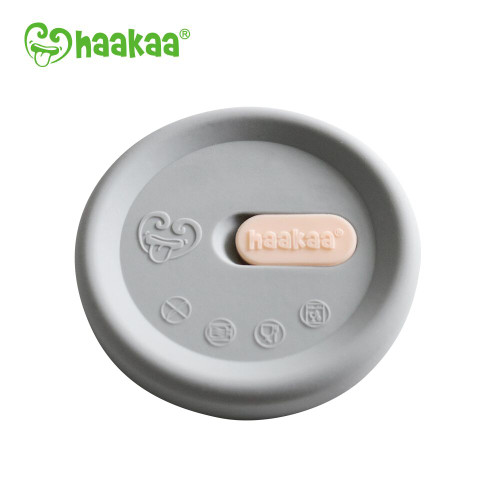 Haakaa Generation 3 Silicone Breast Pump Cap - Grey