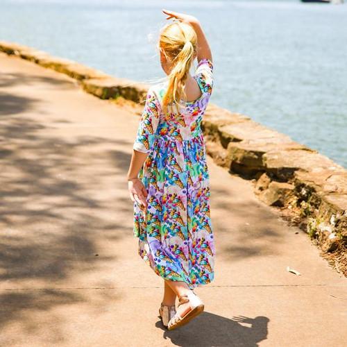 Bare Kids Hi Lo Dress