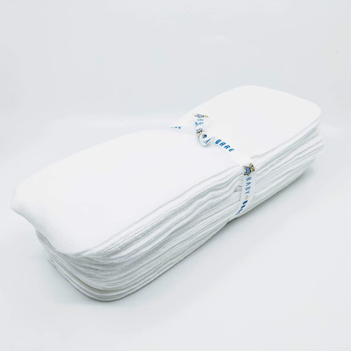 Baby Bare Microfleece Nappy Liners 10pk