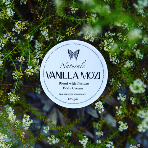Vanilla Mozi Body Cream 125g tub