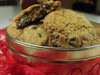 Gourmet Chocolate Chip cookies in this personalized tin - that that's a special gift for a special Valentine.