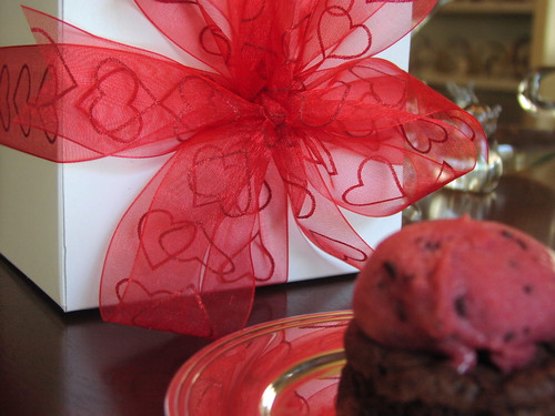 Your Valentine is sure to enjoy a gift box of our big chocolate brownies.